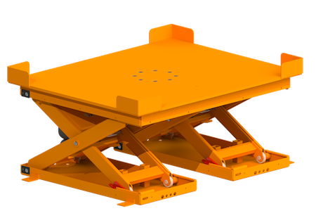 DLPR4860-4000-4455-Low Profile Lift and Rotate Lift Tables