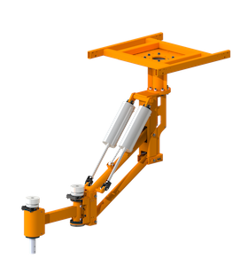 Heavy Duty Articulating Pneumatic Arm Feature