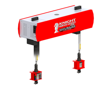 kshtc-sds twin chain servo hoist