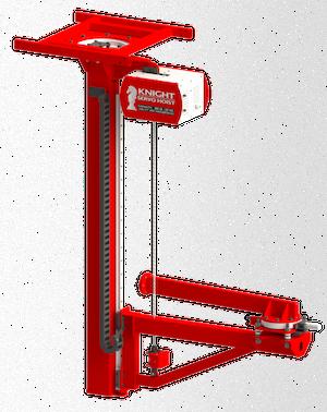 kshva vertical servo arms