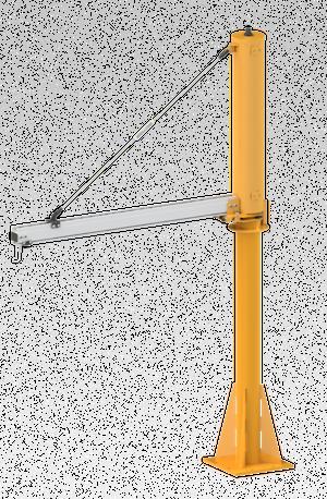 mjba2200 turnbuckle jib crane