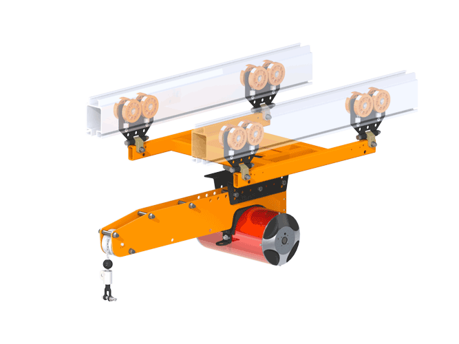 Dual Bridge Pneumatic Balancer Extension Arm
